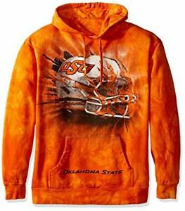The Mountain Men's Oklahoma State University  BT Helmet Hoodie Orange Size 2XL