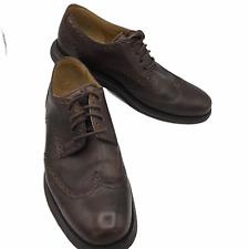 Cole Haan Lunarlon Lunargrand Leather Wingtip Brogue Casual Shoes Men's 9 M