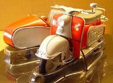 Zündapp Bella Roller mit Seitenwagen / Beiwagen *  Schuco 1:10