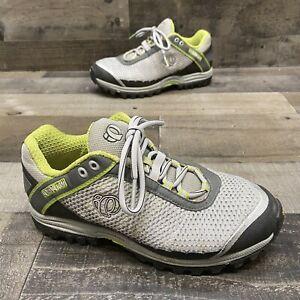 Pearl Izumi Womens Gray/green cycling bike shoes size 38