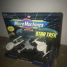 1993 MicroMachines Star Trek The Original Star Trek Galoob 65825 Mic Sealed