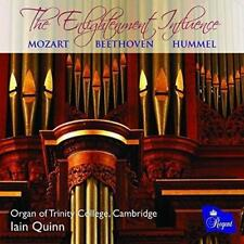 Mozart; Beethoven; Hummel: The Enlightenment Influence, Music For Organ (NEW CD)