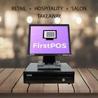 FirstPOS 17in Touch Screen POS EPOS Cash Register Till System Retail /Restaurant