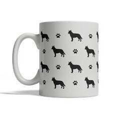 Australian Cattle Dog Silhouettes Coffee Mug, Tea Cup 11 oz Ceramic silhouette