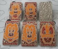 Character Tiki Faces 2014 Hidden Mickey Series Set DLR Choose a Disney Pin