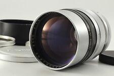 【Rare MINT】 CANON 85mm F1.5 II Leica L L39 LTM Mount w/Hood From Japan #297