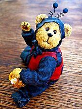 Boyds Shoe Box Bear Lady B. Bear Ladybug Bear # 3257 Jointed Resin