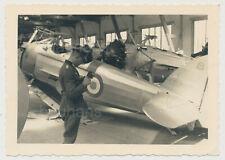 Foto Beute Flugzeuge Frankreich Kennung 2.WK (4743)