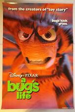 "A Bug's Life (1998) original one-sheet movie poster (27""x40"") D/S ""bugs kick..."""