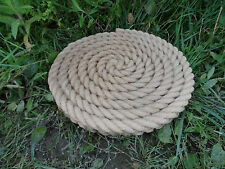 Rope Stepping Stone Garden Ornament Latex Only Mould/Mold