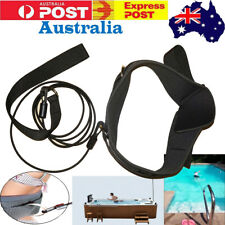 Swimming Leash Tether Swim Training Exerciser Resistance Waist Hip Belt - *New*