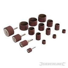 Drum Sanding Kit 20pce 13, 19, 25, 38mm Dia Sanding Drum & Bobbin Sanding