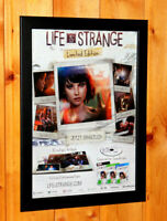 Life Is Strange Video game Rare Small Poster Ad Page Framed PS3 Xbox 360