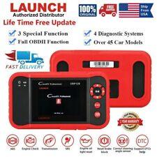 LAUNCH X431 CRP129 OBD2 Car Diagnostic Code Reader ABS SRS Engien AT Oil EPB SAS