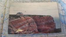 Insel Helgoland Caffe zur Nordspitze AK Postkarte 5971