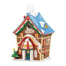 Dept 56 Disney Christmas Village Mickey's Cocoa Shoppe Shop 4053048 Mickey Mouse