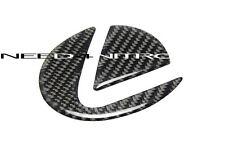 For 06-13 Lexus IS F Sport 250 350 Carbon Fiber Trunk Emblem Insert Filler Decal