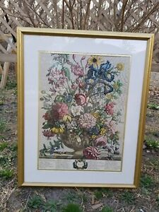 Vintage Robert Furber Summer Etching Print Framed