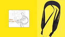 """SHOULDER NECK STRAP """"For NIKON"""" CAMERA D5000 D5100 D3000 D3100 D5200 D5300 D6"""