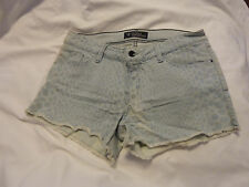 Size 29 Guess cut off jean Shorts - stretchy, snake skin print