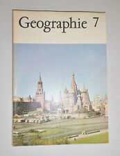 altes Schulbuch Geographie Klasse 7 - DDR