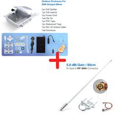 RAK Outdoor Kit w RAK 5.8dBi 915MHz Antenna Kit For Helium Hotspot RAK Miner