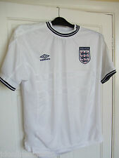 "England Home Shirt By Umbro XL 40"" Chest Football"