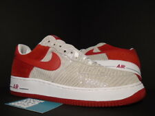 2005 NIKE AIR FORCE 1 PREMIUM CHRISTMAS SILVER RED WHITE GREY TAN 312945-061 11