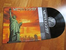 MESHUGGAH Contradictions Coll'apse LP OG 1ST PRESS NUCLEAR BLAST NO CD RARE!