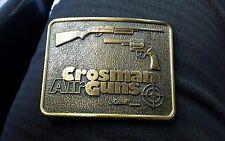 Crossman Air Guns Vintage Belt Buckle By Coleman Made In Canada