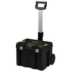DeWALT DWST17820 17-Inch TSTAK Bi-Material Mobile Storage Deep Box