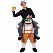 BAVARIAN BEER Shoulder Carry Me Ride On Piggy Back Fancy Dress Costume Outfit