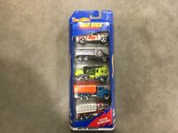 Hot Wheels 5 pack Rad Rigs gift pack! FREE shipping!