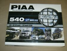 PIAA 540 DRIVING LAMP KIT BLACK HOUSING PART# 5462 HIGH PERFORMANCE LIGHTING
