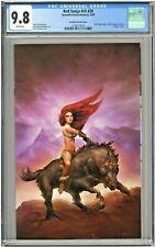 Red Sonja #V5 #20 CGC 9.8 Sara Frazetta Variant Cover Virgin Edition KRS Comics