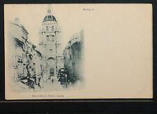 774-🇫🇷LE BOURG >01<-Rue et Eglise Notre-Dame (Dos non divisé (DND)🇫🇷