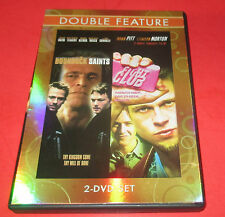BOONDOCK SAINTS & FIGHT CLUB DOUBLE FEATURE DVD- ( 2 -DISC SET) FREE SHIPPING!