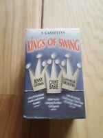 Kings Of Swing Cassette Tape Set New Sealed Benny Goodman Count Basie Glenn Mill