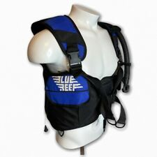 Vtg Blue Reef Bc Admiral Scuba Diving Jacket Vest Style Snorkel Xs 90s 1997 Usa