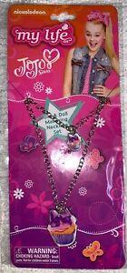 JoJo Siwa Cupcake Necklace and Doll Matching Necklace Set