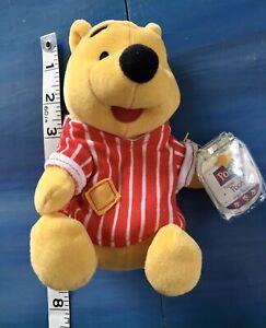 Disney Winnie the Pooh Pajama Party by Star Bean Plush MATTEL Tags Hunny Pot