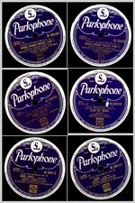 """3x """" Super Swing Music"""" Let's play the Boogie: AMMONS, LUX LEWIS...78RPM  Set993"""