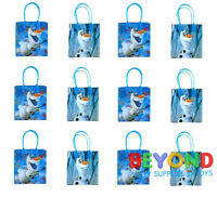 Disney Frozen 2 OLAF Favor Bag Goodie Goody Gift Loot Bags Party Supplies