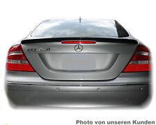 Mercedes Benz CLK C209 A209 209 Coupe SPOILER Heck AMG Typ A LIP SCHWARZ 197