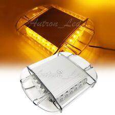 "11"" 20W LED Emergency Beacon Signal Roof Mini Hazard Flasher Strobe Lights Amber"