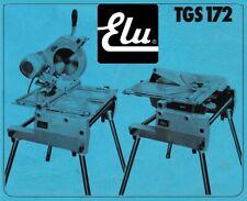 ELU TGS 172 ~ Kapp- Gehrungssäge...
