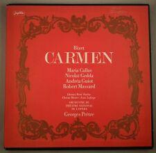 Bizet: Carmen/Pretre/Jugoton & HMV [SAN-140 White Angel] LPHMVV-267 3LP Box Set