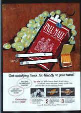 Pall Mall Cigarettes 1959 ad advertisement