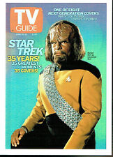 THE QUOTABLE STAR TREK THE NEXT GENERATION TV GUIDE CARD TV8 (USA)