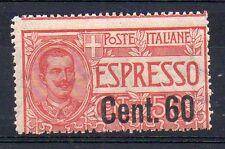 1922 REGNO ESPRESSO 60 CENTESIMI SU 50 INTEGRO C/3943